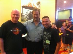 Miles, john de Lancie, and Scott